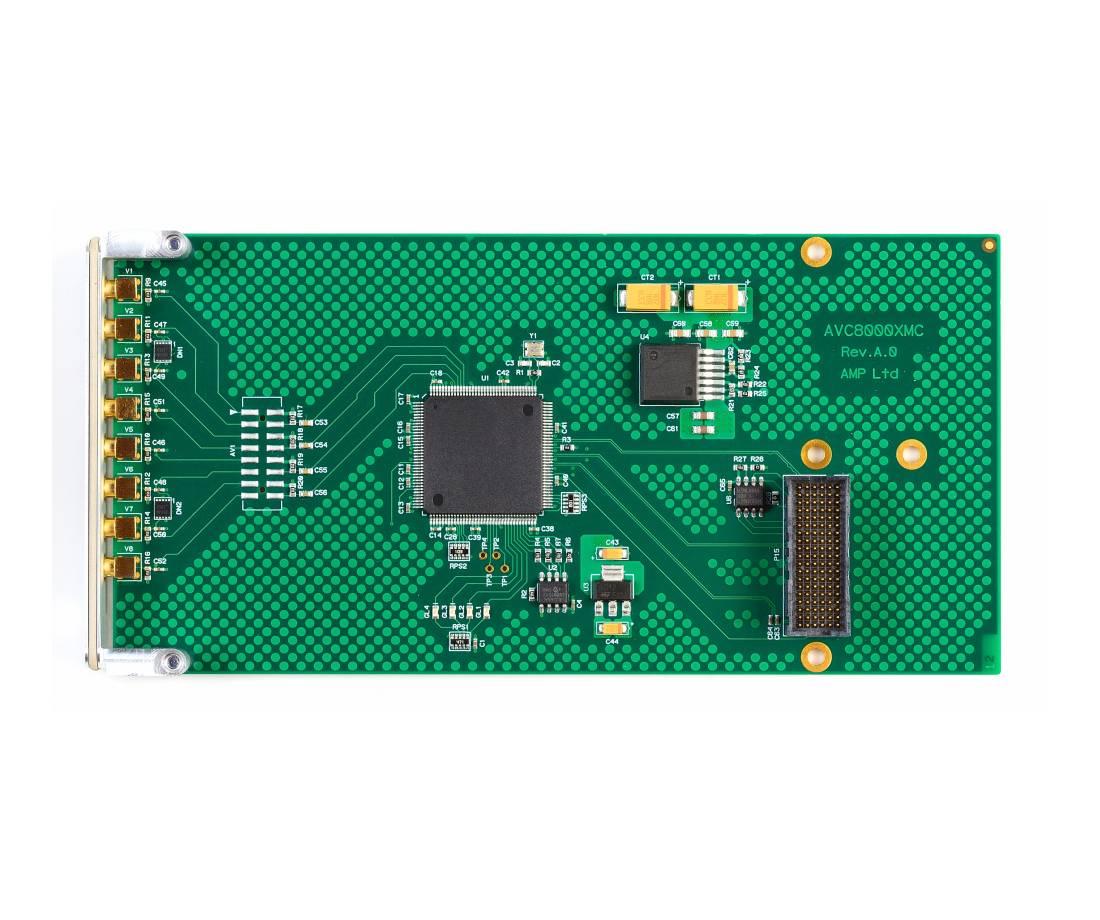 AVC8000XMC - 8x D1 Video Frame Grabber XMC PCI-Express card ...