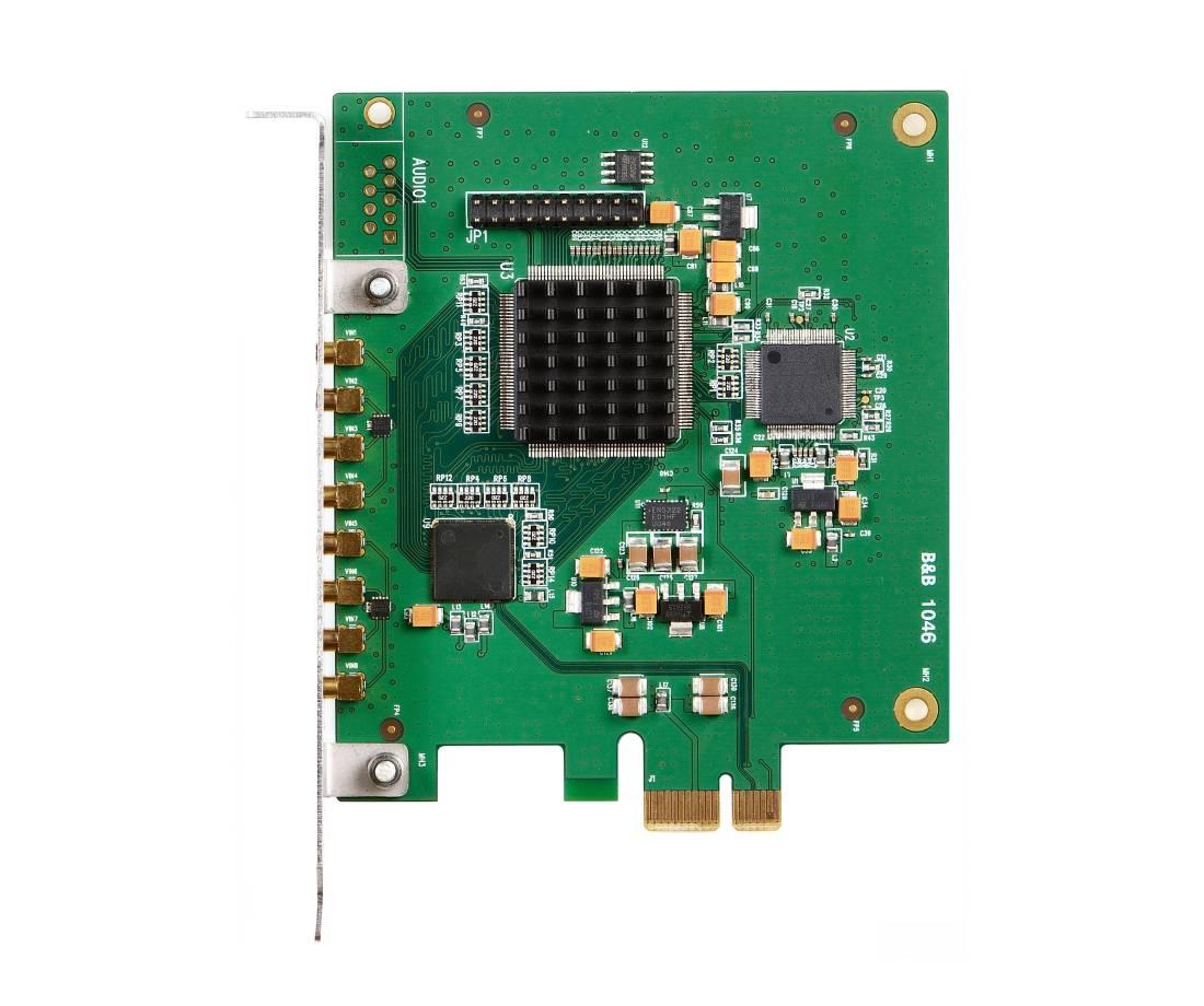 AVC8000S - 8x D1 Video Frame Grabber for PCIExpress - Advanced Micro ...