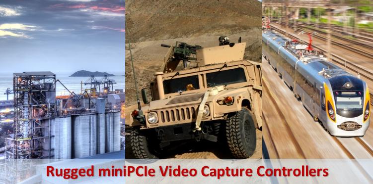 Rugged miniPCIe Video Capture Controllers - Advanced Micro